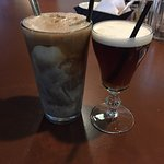 Float and irish coffee