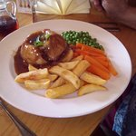 Homemade Steak and Kidney Pudding