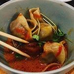 Bison Dumplings