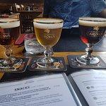 beer taster and menu