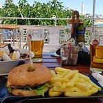 Tuna Salad & a Burger...Just WoW...really!
