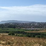 View back over Weymouth