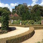 Area of formal gardens