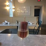 Yes, that's a popsicle in my champagne. Yum!