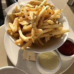 Truffle Fries ($5) at Piatti in Mill Valley.