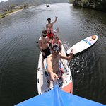 Paddling in the bigsup is even more fun, it has space enough for you and yuor friends