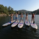 Sunset paddle session in the Douro