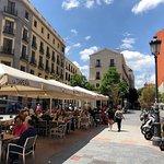Plaza with La Taperia del Prado