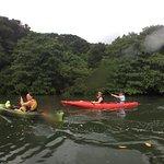 Kayaking to Pinasara Falls, Iriomote