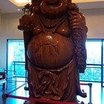 Statue outside restaurant