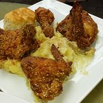 Fried Chicken (with mashed potatoes)