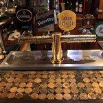 Money on the bar