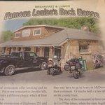 Foto de Famous Louise's Rock House Restaurant