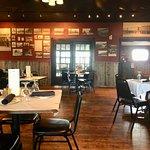 dining room of Cavalryman Steakhouse, Laramie Wyoming