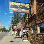 Mother Bear's Pizza on 3rd Street in Bloomington, Indiana