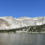 Spectacular views on the drive through Medicine Bow National Forest