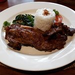 Iga Bakar (Grilled barbecue pork rib in homemade barbecue sauce)