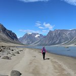 Day hike in Auyuittuq National Park