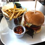 Beef Rib Burger Lunch