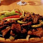 Sizzling Mongolian Lamb