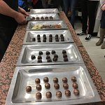 Samples provided to our group demonstrating the quality of Josephan's chocolates.