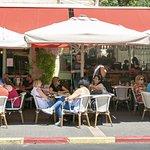 KALO Restaurant Jerusalem sidewalk