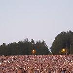 The crowd at Guns 'n Roses