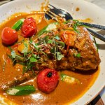 Curry fish tail