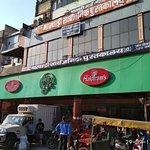 Haldiram's outlet in Chandni Chowk