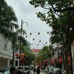 Tan Hiok Nee heritage Street Foto