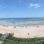 Pano of our view from the balcony. Love it