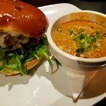 Baja Chicken Soup & White Oak Burger