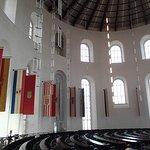Interior, upper level, St. Paul's Church