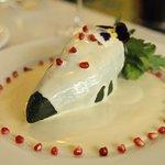 chile en nogada de mariscos