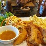 Stick Fisherman View Restaurant Koggala Foto