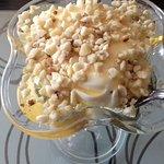 Greek yogurt honey & chopped walnut