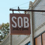 Loved the name of this Memphis restaurant - SOB (South of Beale)