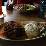 Curry met eend