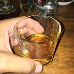 Grans Marnier, Fine Cognac and Orange Liquer; Classy drink and establishment