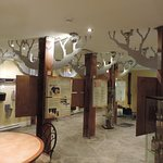 Museum about the history of the maple tree at Delices Erable & Cie, Quebec City
