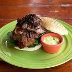 nuestro bbq burger excelente
