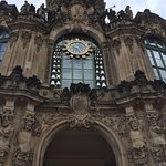 The Meissen Porcelain carillon in the Zwinger