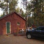 Our cabin at Jacob Lake Inn