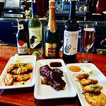 Bubbles and Bites Happy Hour at our bar Monday-Thusrday from 3pm till 6pm! 3 to 5pm on Friday's!