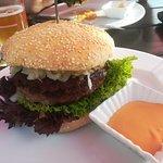 Diesen Burger haben wir bei unserem Besuch gegessen. Sehr lecker