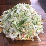 Topopo salad, enough to share!