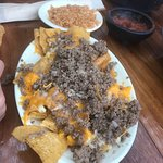 Kids nachos, no beans