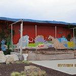 Bedrock Theater...plays Flintstones cartoons