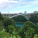 The Rainbow Bridge as seen from the Canadian side!