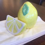 We have FRESH lemon for your ICED TEA!